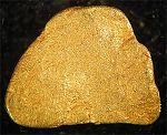 Rotache (Schweiz)  4 x 5 x 0,7 mm,  100 mg