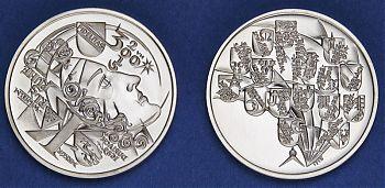 Stadtjubiläumsdukat 2015 in Silber